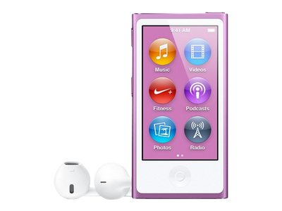 Apple iPod Nano (seventh generation, purple)