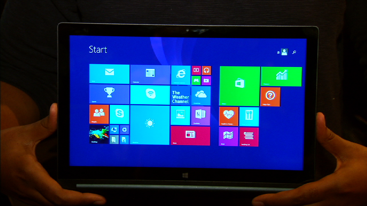 Video: The 13-inch Lenovo Yoga Tablet 2 has a quad-HD display and runs Windows 8