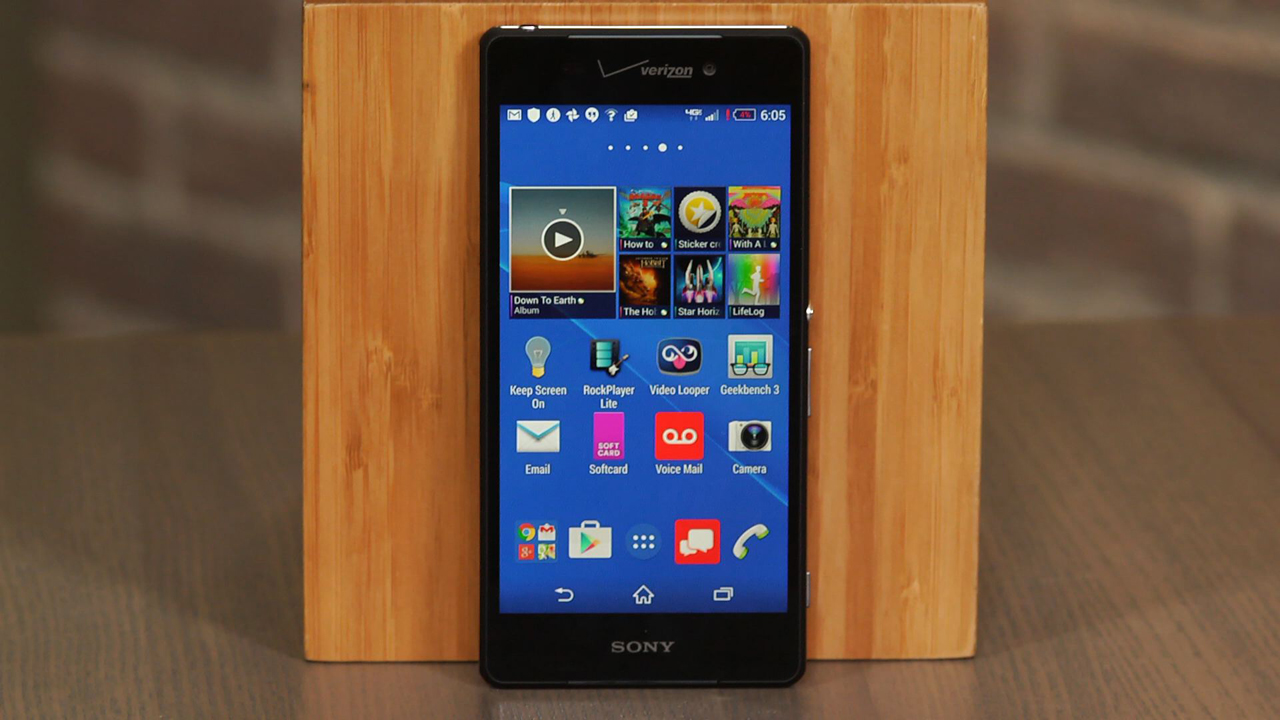 Video: Verizon-exclusive Sony Experia Z3v: an excellent waterproof phone, but not quite a Z3