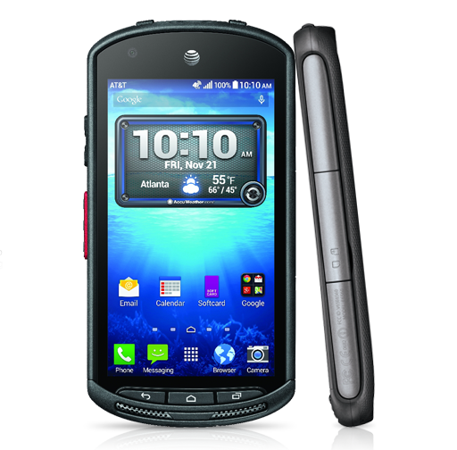 The Kyocera DuraForce is AT&T's latest rugged Android
