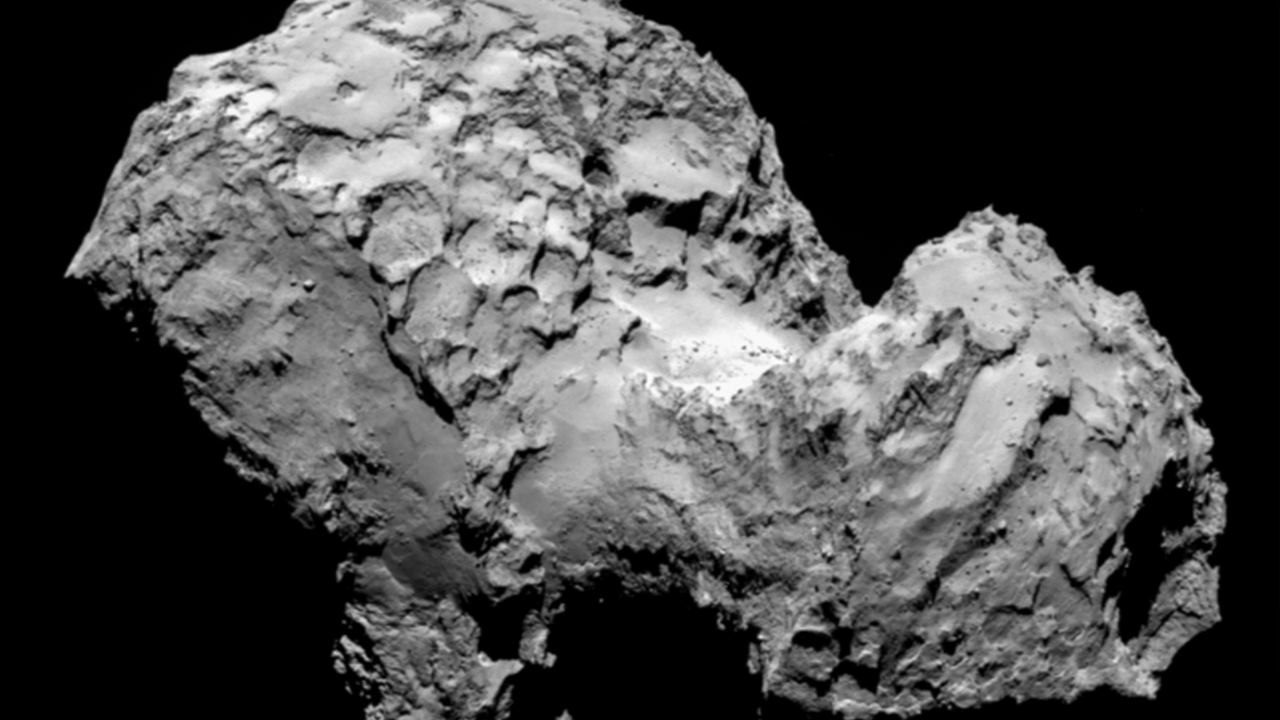 Video: Humanity lands on a comet