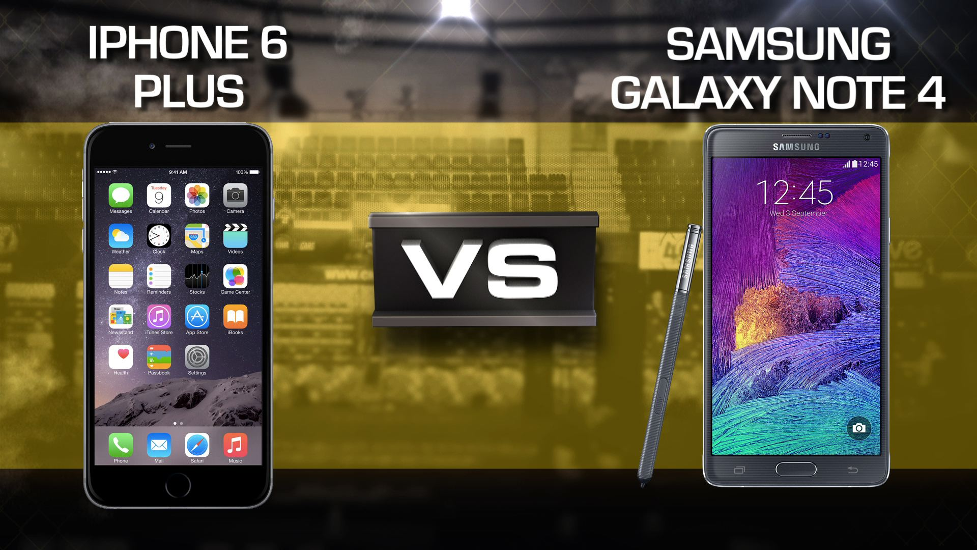 Video: iPhone 6 Plus vs. Galaxy Note 4