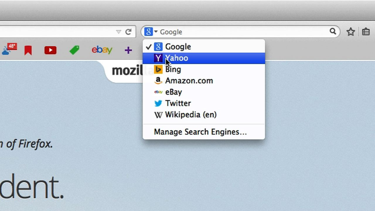Video: Firefox dumps Google for Yahoo