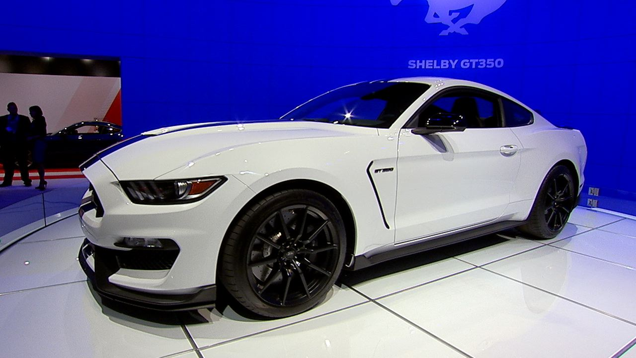 Video: Ford Shelby GT350