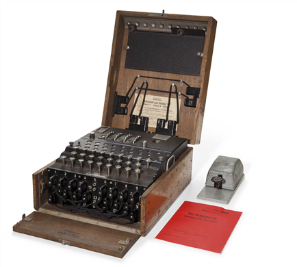 Be a code breaker: Enigma machines up for auction - CNET