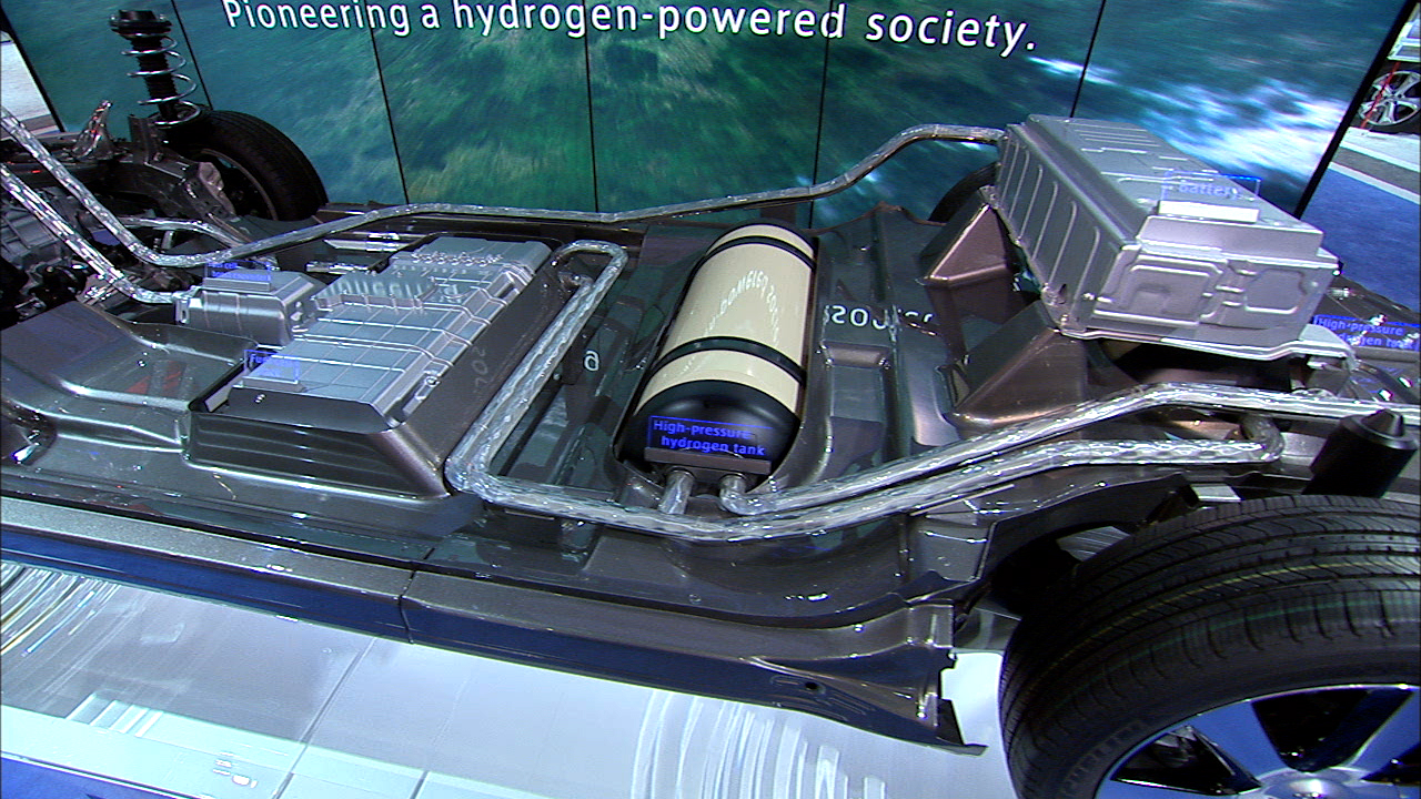 Video: Road to the future: Toyota's big gamble on hydrogen fuel cell cars