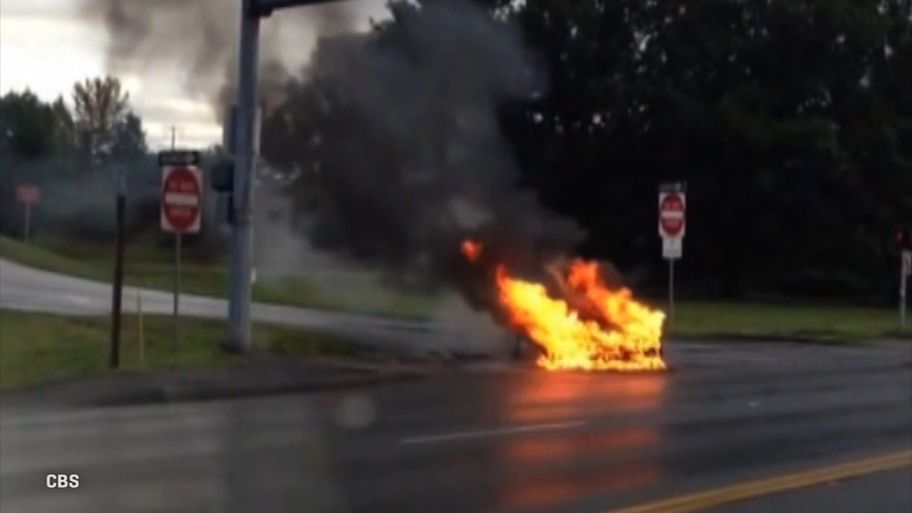 Video: Smarter driver: When cars burn