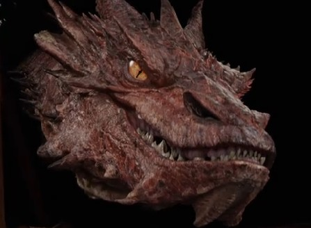 Stephen Colbert Interviews Smaug From The Hobbit Cnet