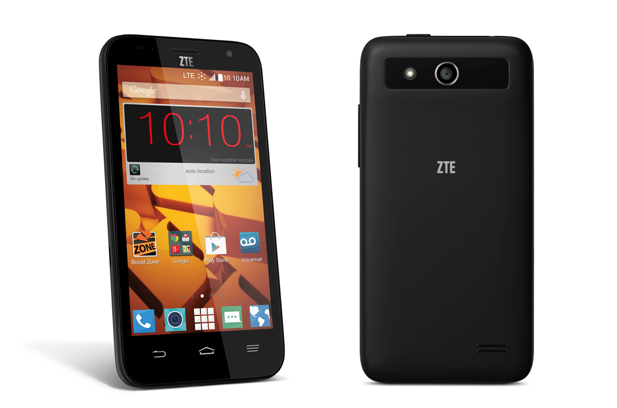 zou zte boost mobile are