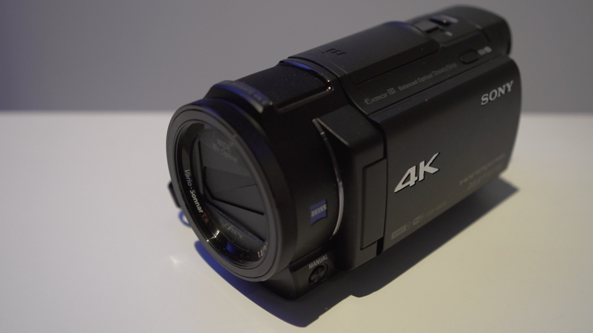 Video: Get a look at Sony's new 4K camcorder