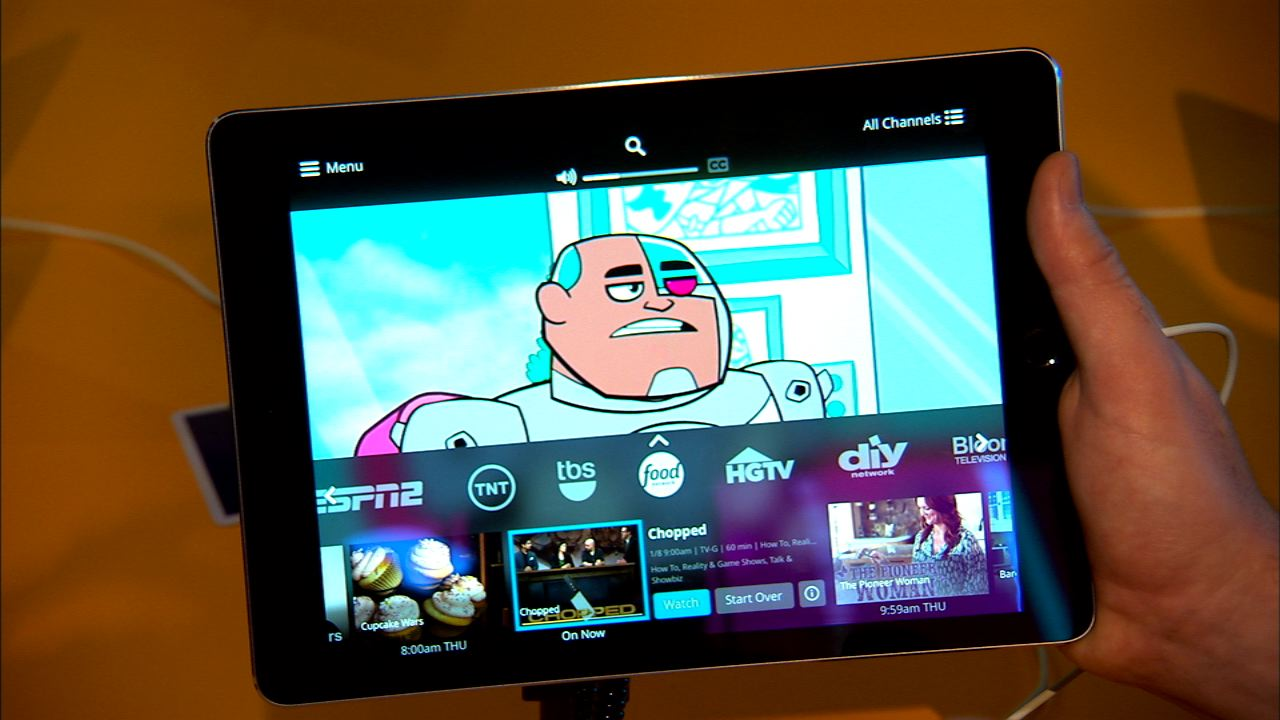 Video: Dish's Sling TV puts live TV on your tablet