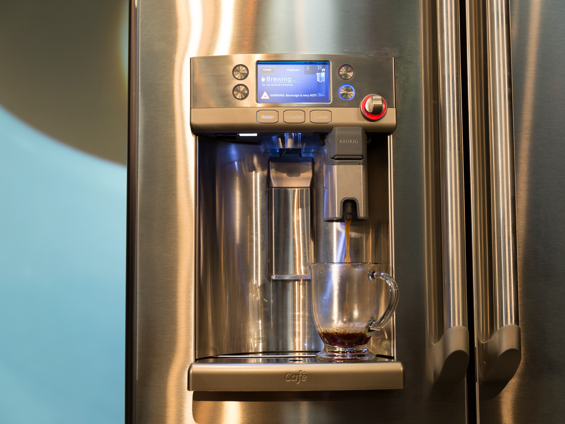 Ge Coffee Maker And Grinder : GE Cafe Series French door refrigerator with Keurig K-Cup Brewing System Release Date, Price and ...