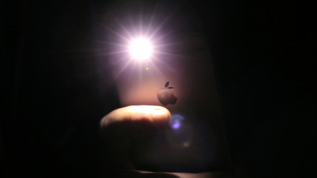 Video: Quickly turn off the iPhone flashlight
