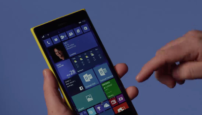 Microsoft shows off a preview of Windows 10 for phones