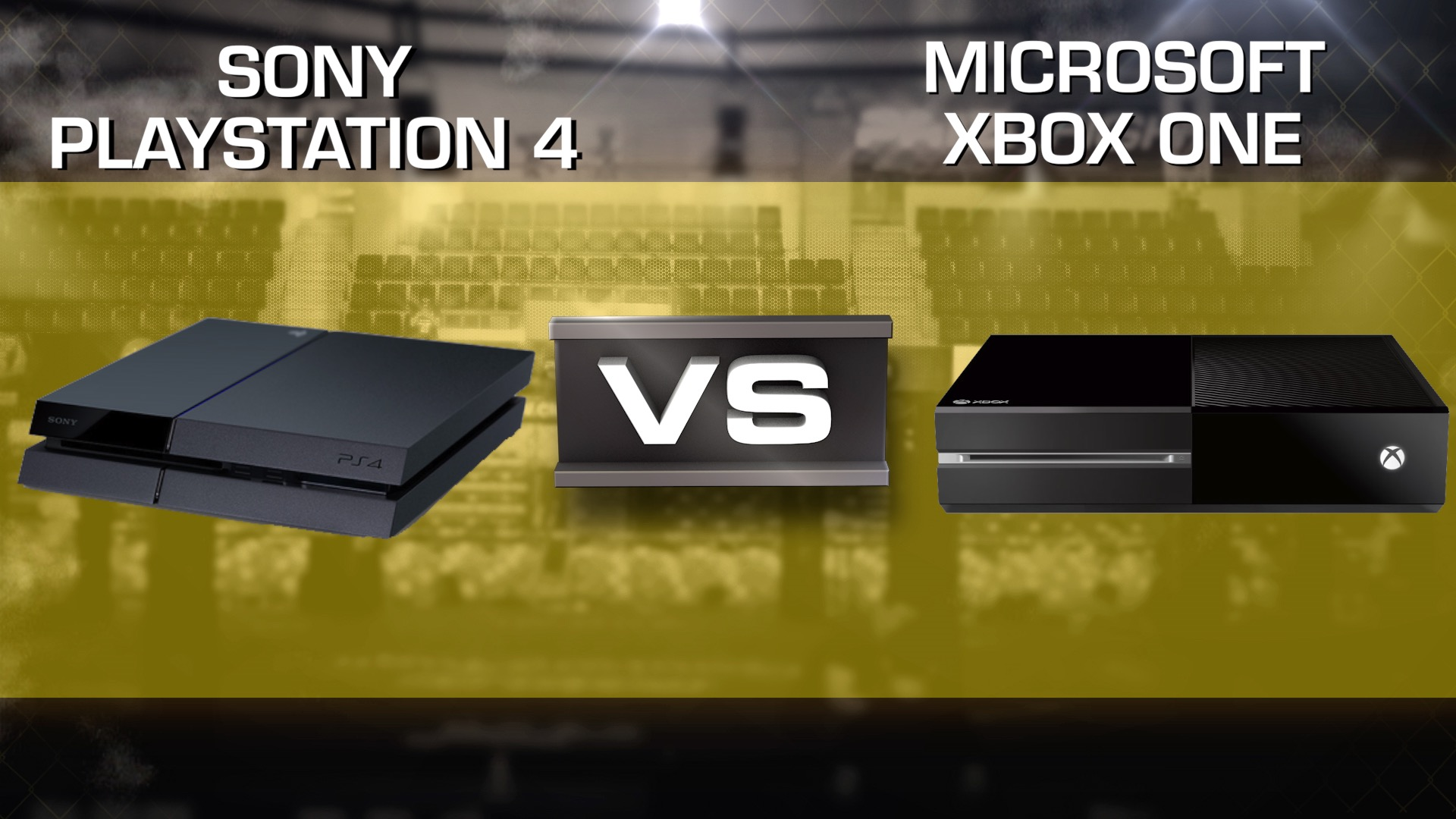 Video: Sony PS4 vs. Microsoft Xbox One rematch