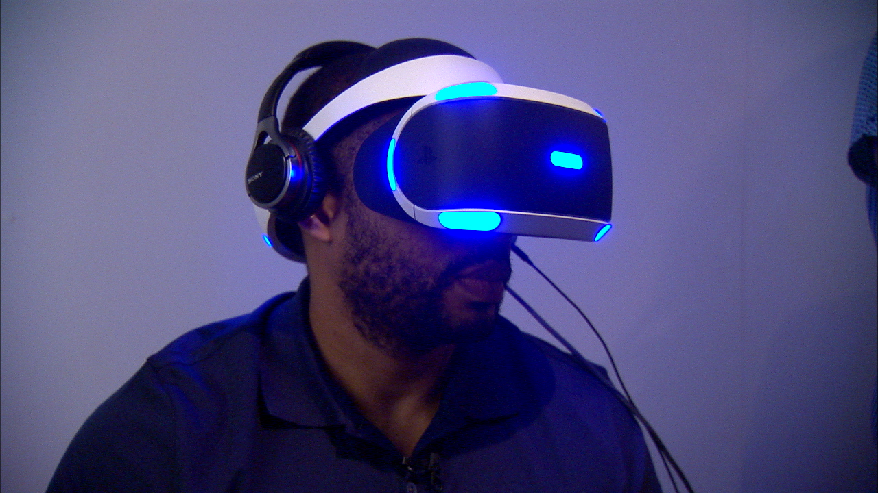 Video: The Sony Morpheus VR headset gets more comfortable and more immersive