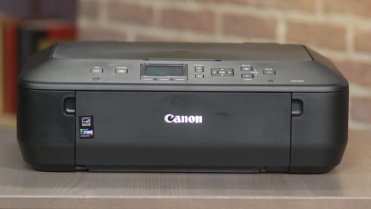 Video: The Canon Pixma MG5620 is an attractive printer despite its high ink costs
