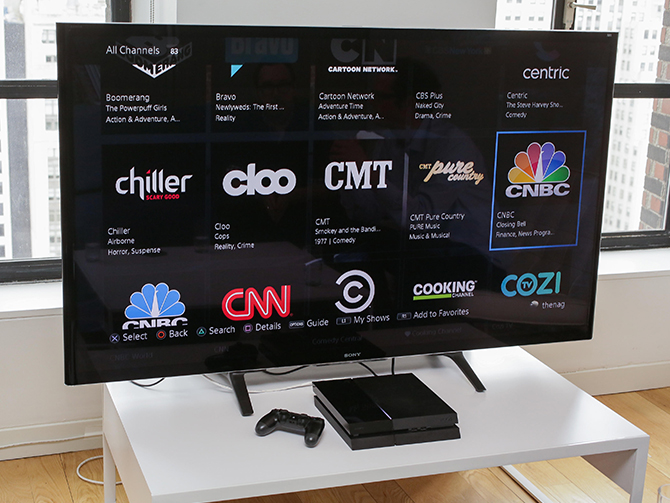 PlayStation Vue TV: No cable, no contract, few compromises