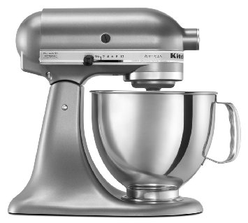 KitchenAid Artisan Series 5-Quart Tilt-Head Stand Mixer (contour silver)