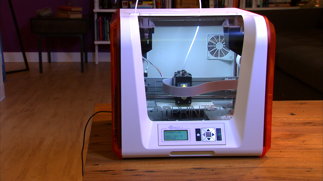 Video: The XYZPrinting Da Vinci Jr. 3D printer is not junior at all