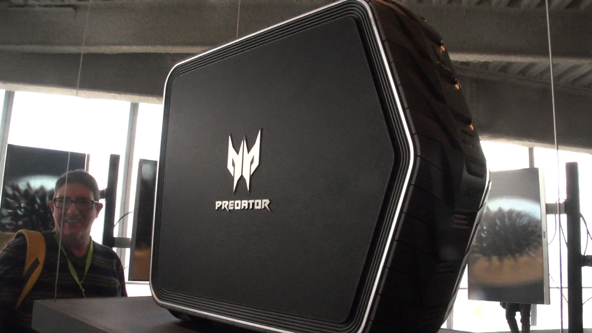 Video: New Predator gaming line from Acer includes a curved G-Sync display