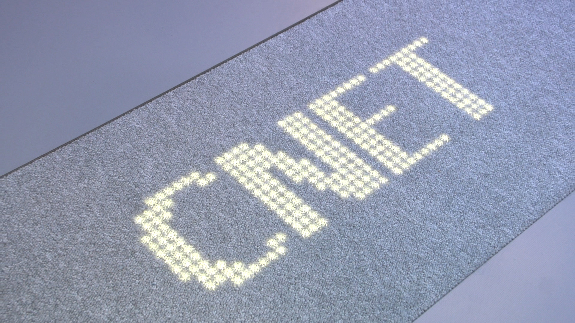 Video: Philips rolls out the LED carpet