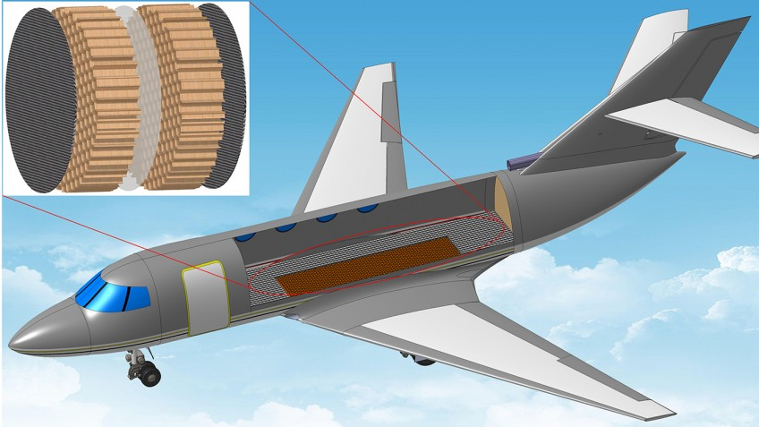 Sound bouncing membrane could make plane cabins 1 000 Airplane cabin noise