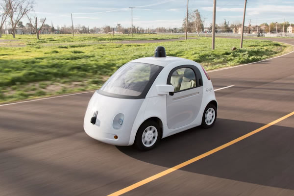 Google's self-driving bubble cars will take to the public roads this summer.