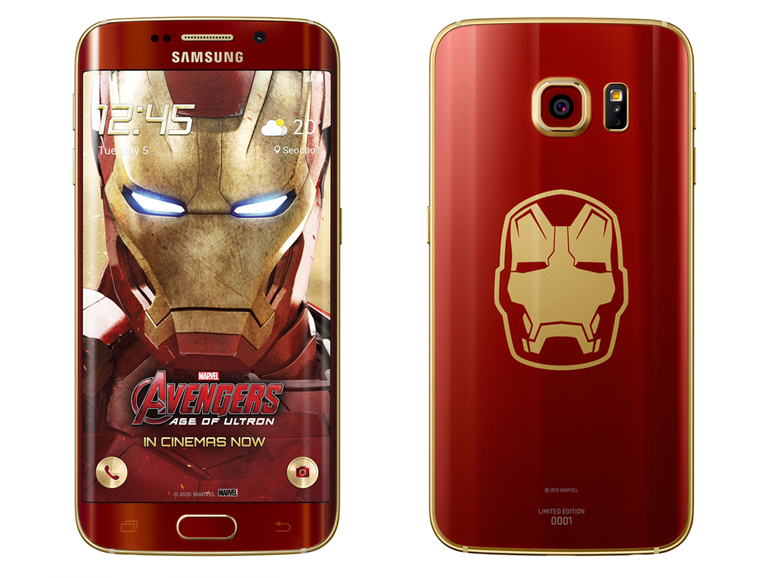Samsung armours up with limited-edition 'Iron Man' S6 Edge