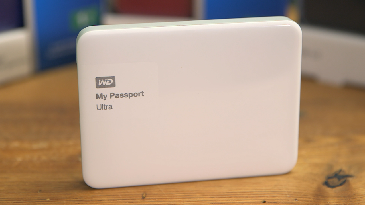 Video: The new WD My Passport Ultra is colorful, to say the least.