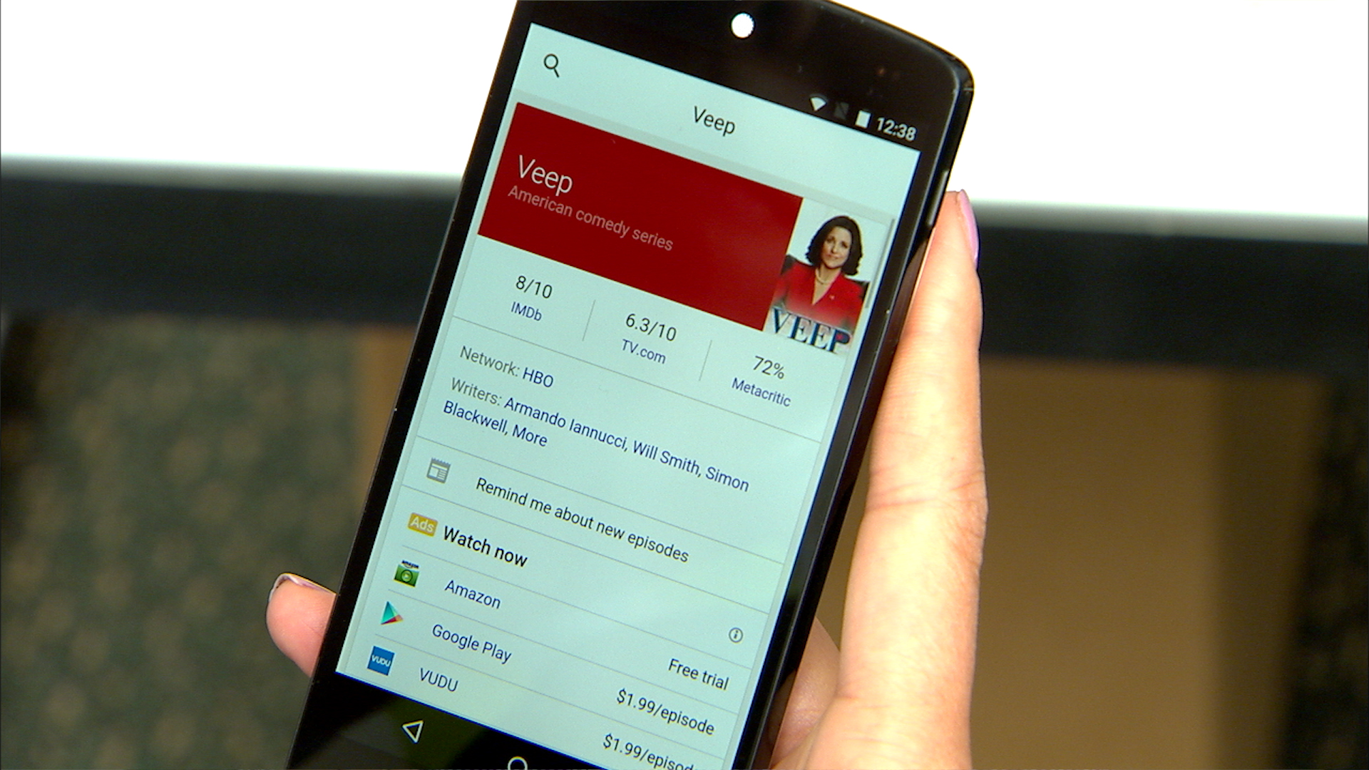 Video: Google Now gets smarter with Now on Tap