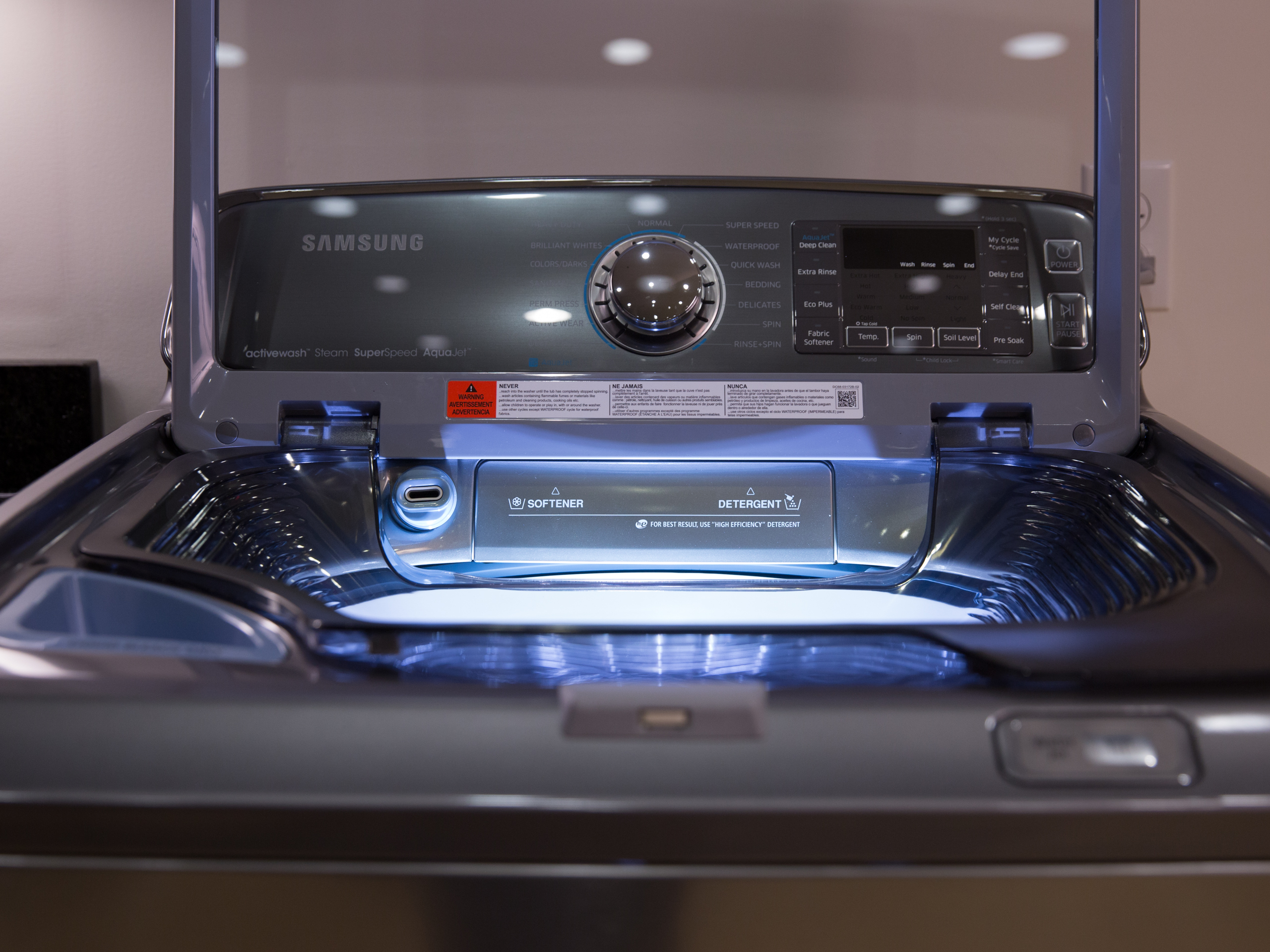 samsung washing machine commercial 2015