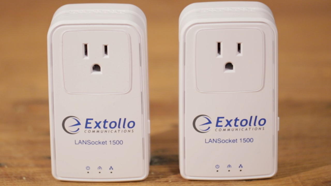 Video: The Extollo LANSocket 1500 power-line kit is not the selfish type
