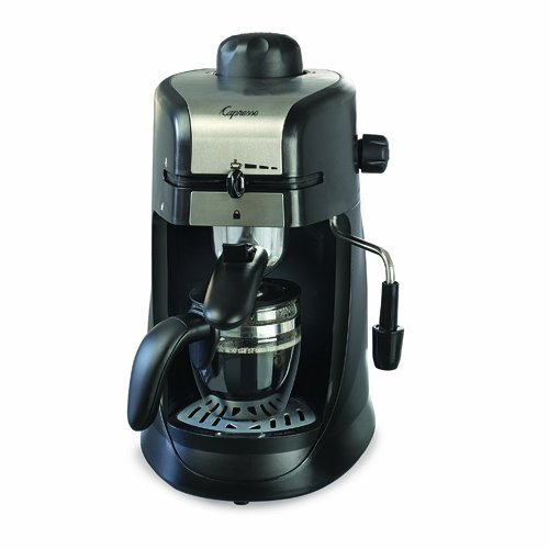 Capresso 4-Cup Espresso and Cappuccino Machine (Chrome)