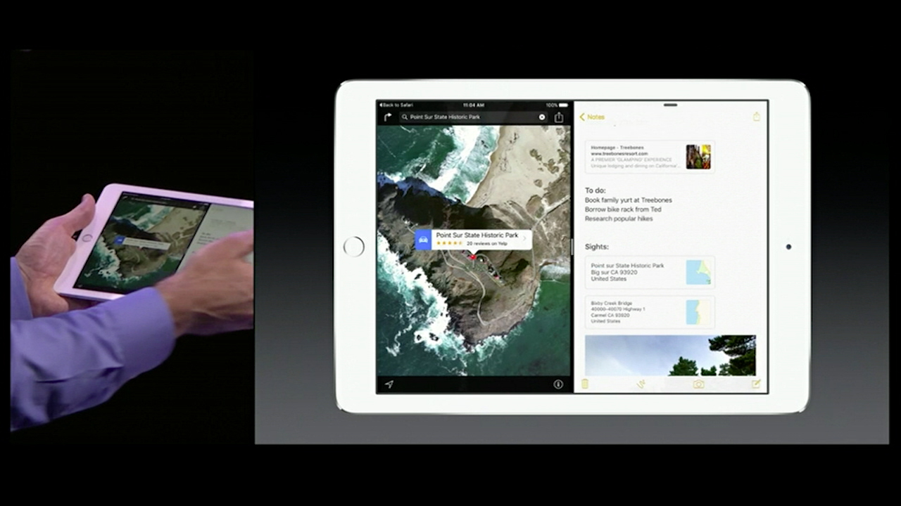 Video: iOS 9 brings real multitasking to the iPad