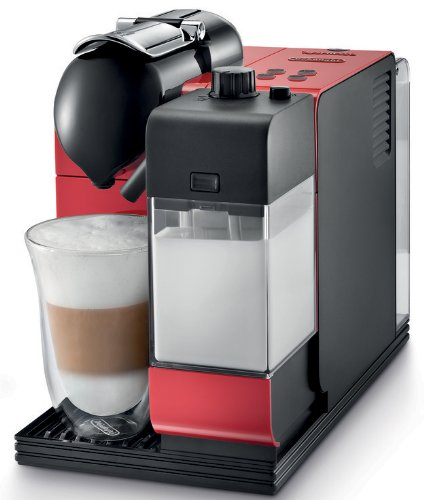 DeLonghi Lattissima Plus Nespresso Capsule System (Red)