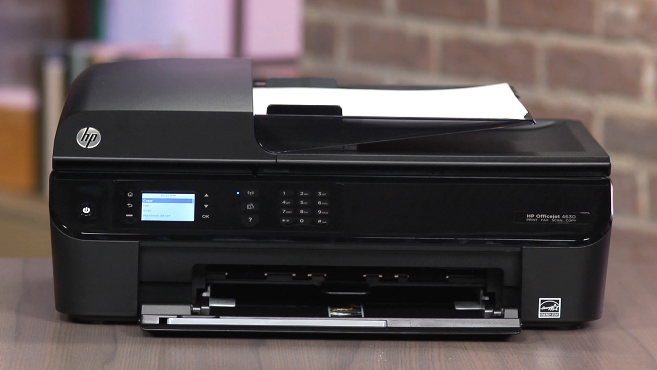 Video: HP Officejet 4630: a true multifunction printer with additional copy, scan and fax capabilities
