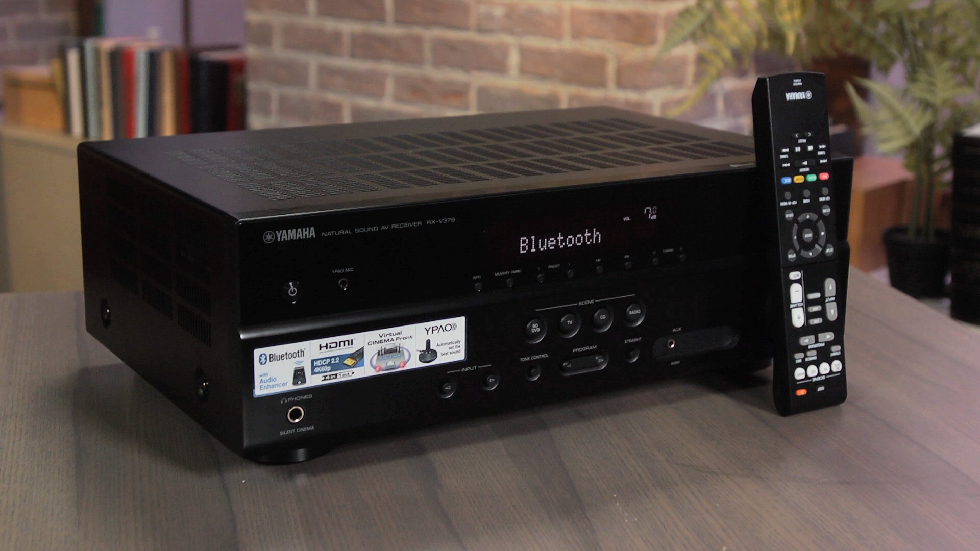 Video: Yamaha RX-V379 offers decent sound at a budget price