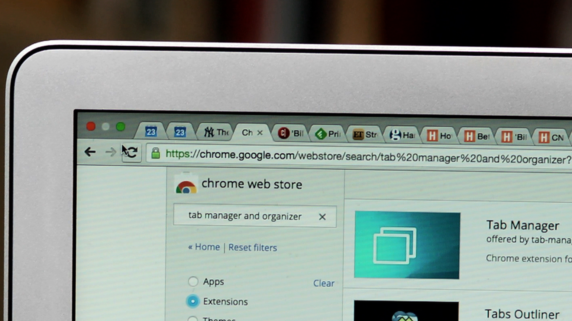 Video: Never lose a tab in Google Chrome again