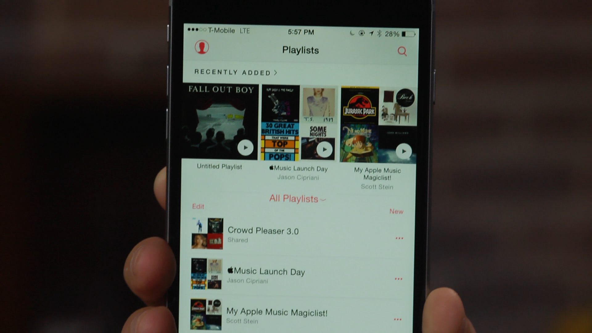 Video: Add a Playlist button to Apple Music