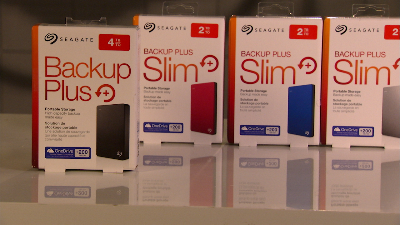 Video: Slim or no Slim, the new Seagate Backup Plus portable drive is totally spacious