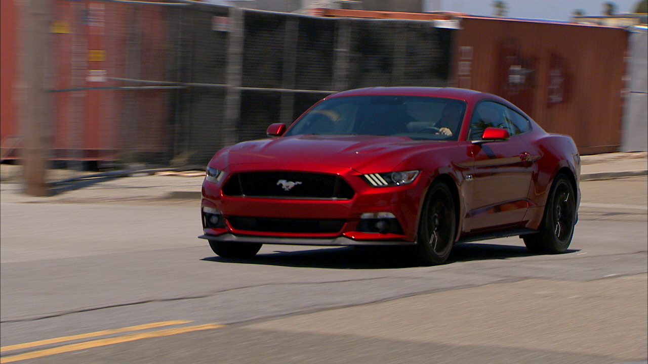 Video: Ford Mustang GT: 50 years old and looking better than ever