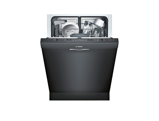 "Bosch Ascenta SHS5AV56UC 24"" Scoop Handle Dishwasher"