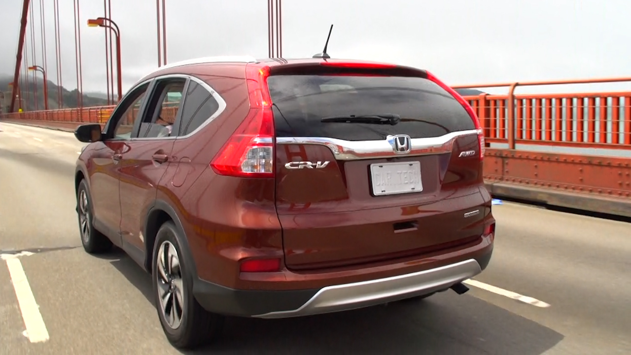 Video: On the Road: 2015 Honda CR-V