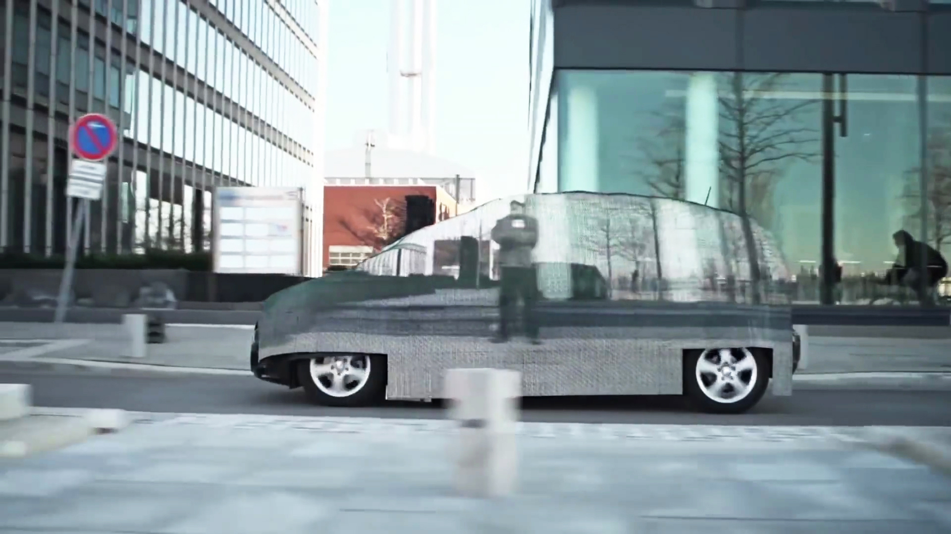 Video: Car Tech 101: Forget the flying car, the invisible car is almost here
