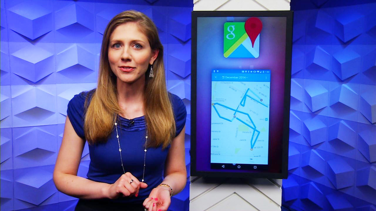 Video: Google Maps Timeline shows everywhere you've been