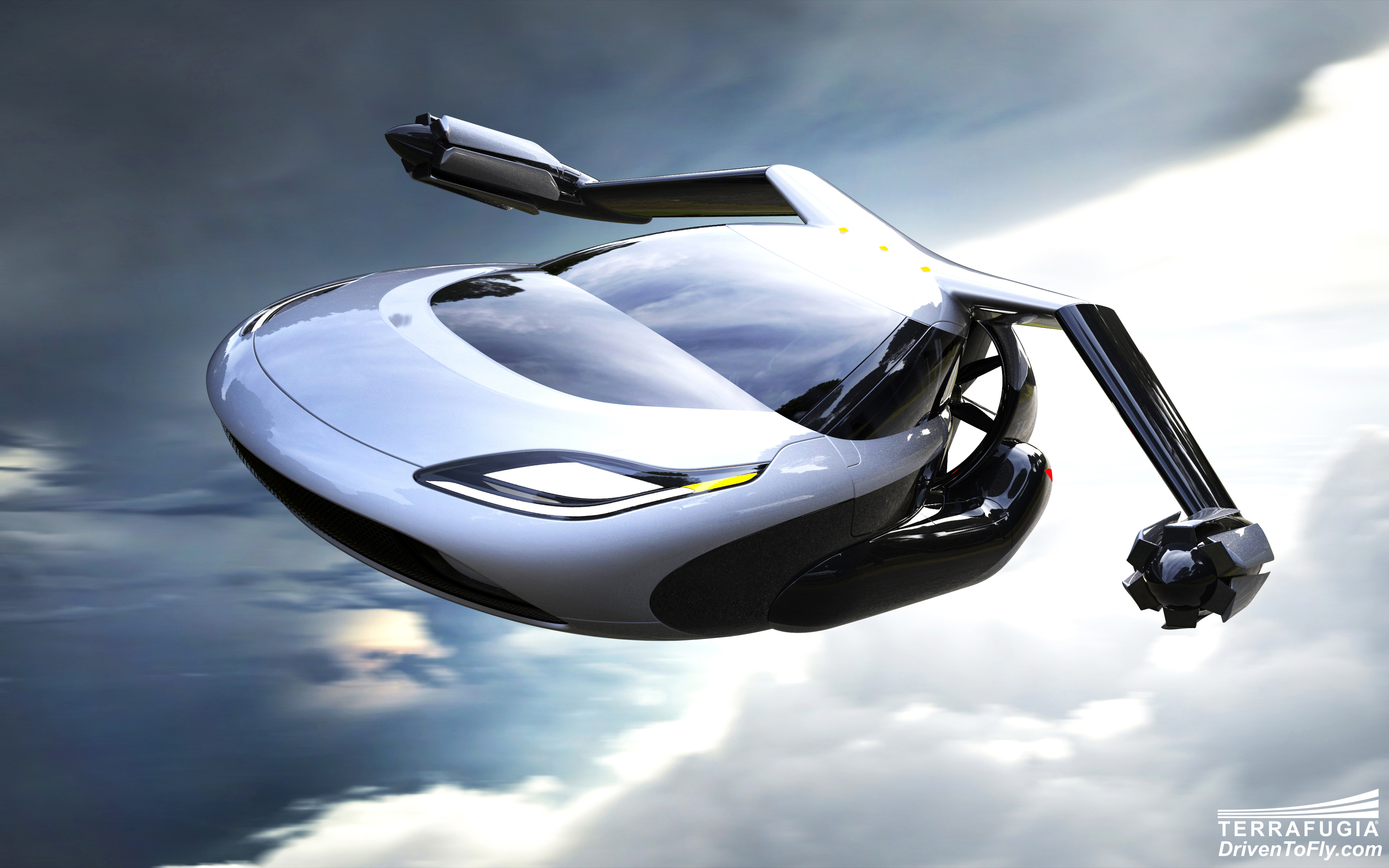 Video: TF-X flying car concept gets a fancy new design (Tomorrow Daily 213)