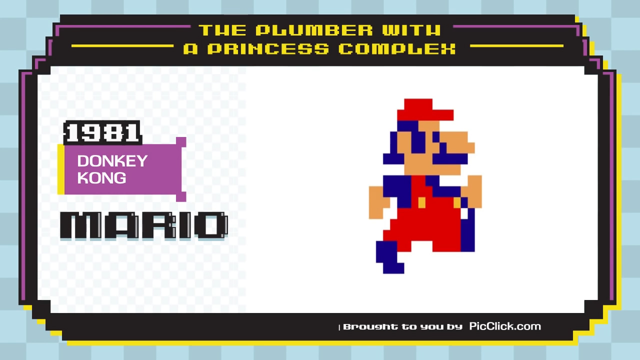 Video: Watch classic Nintendo characters evolve over time, Ep. 212
