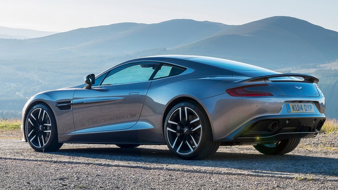 Video: Aston Martin Vanquish: If you could, you would