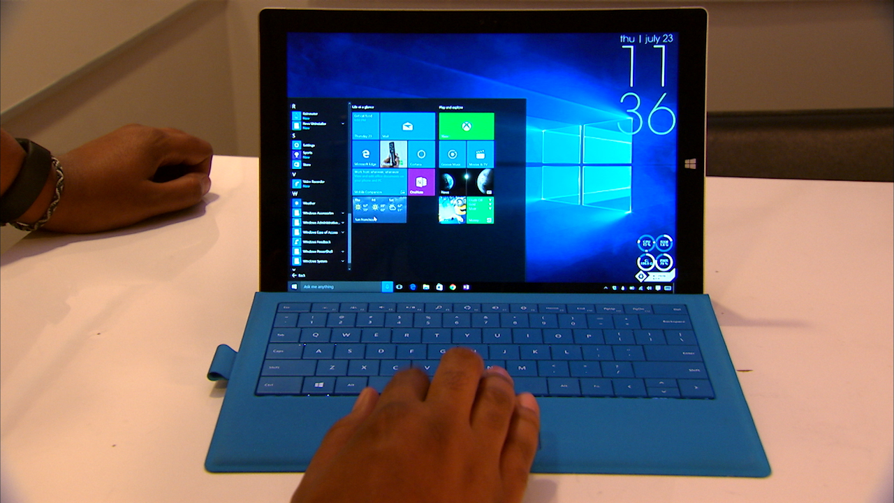 Video: Introducing the Windows 10 Start Menu, and Continuum